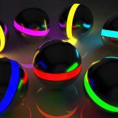 Light balls fullHD
