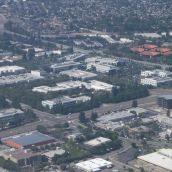 NVIDIA Headquarters from the Air