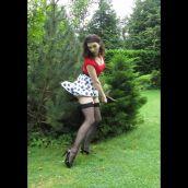 2-WatlingW-Polka Dot Skirt