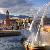 BarberaJ-The Fontana and the Spain Square of Barcelona