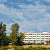 Sanatorium on the Ural River ( Panorama )