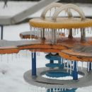 Icy Playground in Toronto