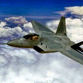 F-22 Raptor Stealth fighter jet