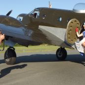 2015 Warbird Pinup Girls calendar shoot