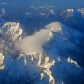 Swiss Alps - Aerial View