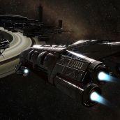Terran Baldric near Saturn