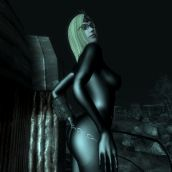 Catsuit at Night