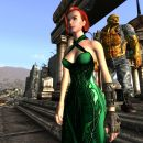 Green Dress in Fallout 3