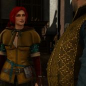 Talking with Triss