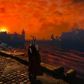 Novigrad Harbor Sunset