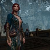 Triss' Alternate Outfit
