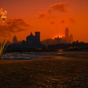 Distant Novigrad Sunset