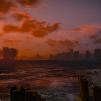 Oxenfurt Harbor Sunset