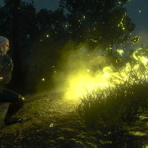 Don't Stand Between a Witcher and his Quick Travel Point!