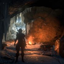 Ice Cave Campfire