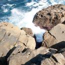 San Sebastian sea rocks