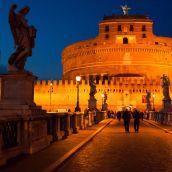 Rome at night 3D