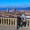 Panoramic view of Florence from