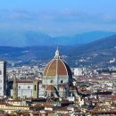 Giotto's Bell Tower and the Brunelleschi's Dome, the Cathedral
