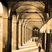 Vasari's Lodges in 1906 (Arezzo, Tuscany)