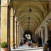 Vasari's Lodges Now (Arezzo, Tuscany)