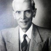 Quiad-e-Azam Muhammad Ali Jinnah Portrait