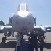 A-10 front View