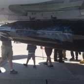 Mock Bomb from underneath an A-10