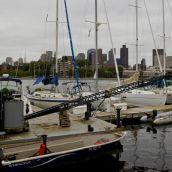 Harbor near Boston
