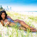 Australia beach bikini model