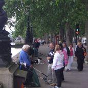 Fishermen in London