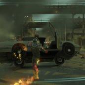 Kicking a car. Iron Man in GTA 4