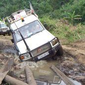 Medecins Sans Frontieres Ambulances.  Masisi - Democratic Republic of the Congo.