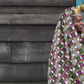 Portrait at Medecins Sans Frontieres Village D'Accueil.  Masisi - Democratic Republic of the Congo