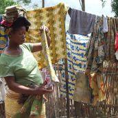 Medecins Sans Frontieres Village d'Accueil.  Masisi - Democratic Republic of the Congo