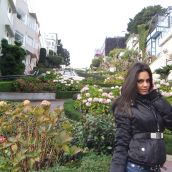 Lena on Lombard St, San Francisco California