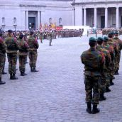 Army Museum Brussels Parade Belgian Army