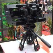 Canon XF105 stereoscopic rig