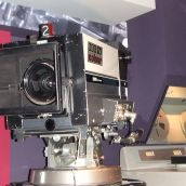 Old BBC broadcast camera