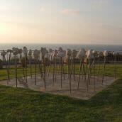 israel, netanya beach, art
