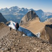 Backpacking On Northover Ridge - Canadian Rockies