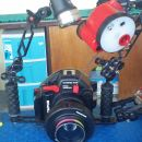 Large and Fancy Underwater Camera