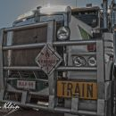 Road Train in Central Australia
