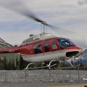 Alpine Helicopter, Rocky Mountains