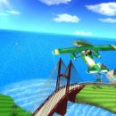 Wii Sports Resort Flying in 3D ..Must play with REAL WiiMote TOO FUN : )