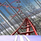 Roller Coaster Rampage perfect in 3D Vision !