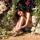 flowers girl sweet