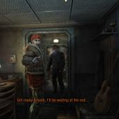 Metro: Last Light - get ready Artyom