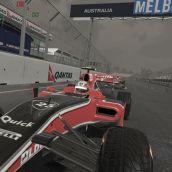F1 2011 - Facing car