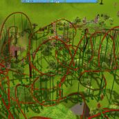Rollercoaster Tycoon 3 Platinum - Massive rollercoaster